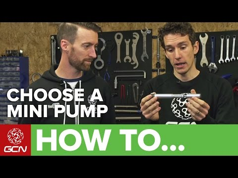How To Choose A Mini Pump – What Pump Should You Take With You On Bike Rides?