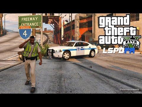 GTA 5 LSPDFR 0.3.1 - EPiSODE 402  - LET'S BE COPS - HIGHWAY PATROL (GTA 5 REAL LIFE POLICE MOD)