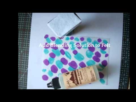 Parchment Craft & Spectrum Noir Pens