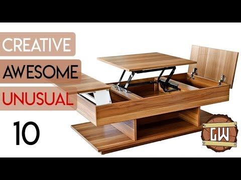 10 Creative Wooden Table Ideas