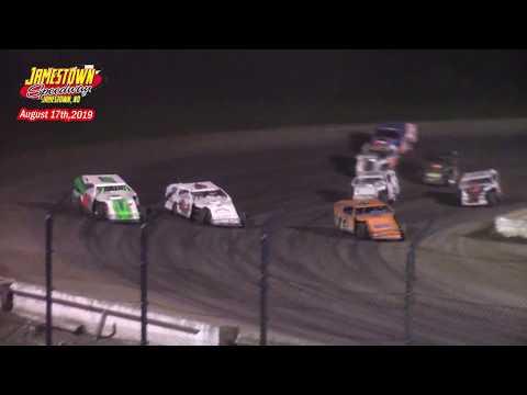 Jamestown Speedway IMCA Modified A-Main (8/17/19)