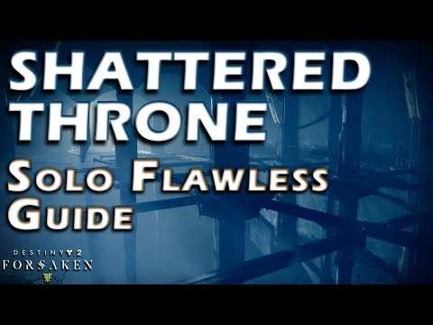Solo Flawless Shattered Throne  - Guide / Walkthrough - Dreaming City Dungeon - Destiny 2 thumbnail