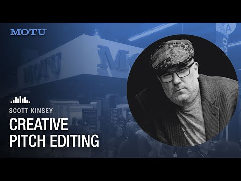 Scott Kinsey: creative pitch editing on a bass line in DP