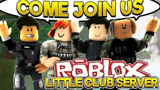 ROBLOX FACECAM PHANTOM FORCES: THE LITTLECLUB SERVER - Little Baby Max Games & Gaming