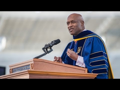 "Notre Dame Commencement 2014: Rev. Ray Hammond says ""Pass It On!"""