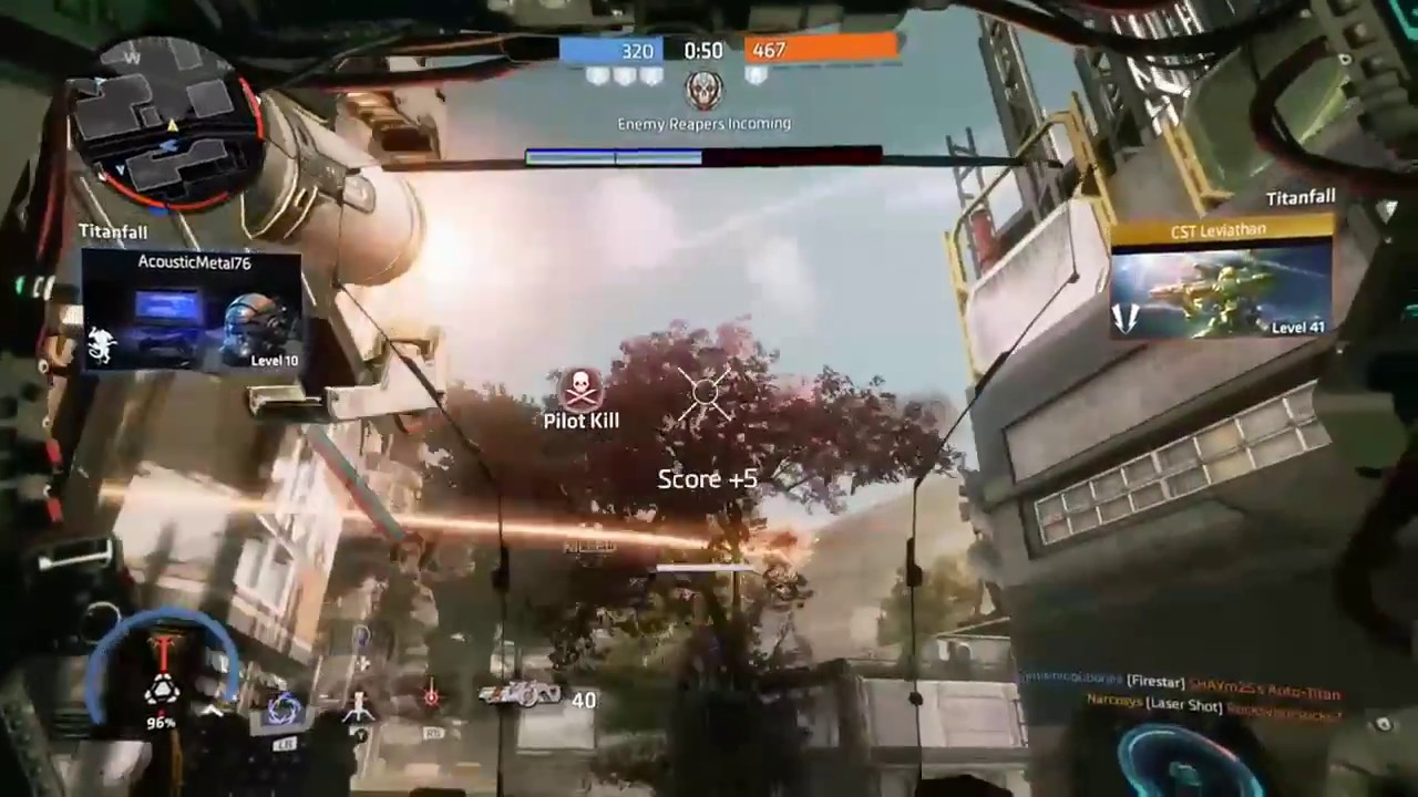 Titanfall 2 Titan gameplay - YouTube