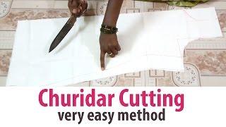 Churidar Cutting sudidhar Chudidar Lining top part-1/2 tailoring classes