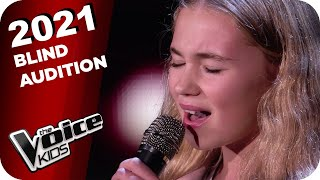 Christina Perri - Jar of Hearts (Kiara) | The Voice Kids 2021 | Blind Auditions