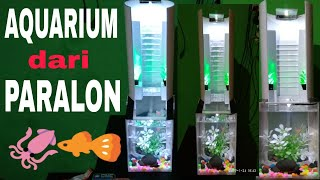 aquarium unik dari paralon