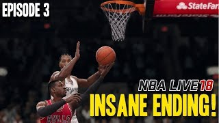 NBA LIVE 18 DYNASTY MODE EPISODE 3 | OMG THAT ENDING! WOW...