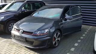Volkswagen golf 7 gti 2017 test drive