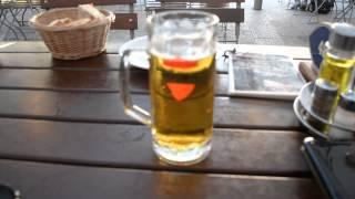 アキーラさんクロアチアビール堪能①クロアチア・ドブロブニク旧市街レストランKonova,Croatian-beer.Dublovnik,Croatia