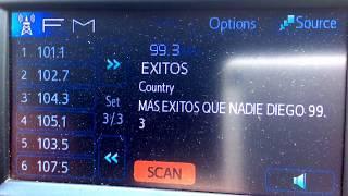 San Diego/Tijuana local FM radio stations July 15, 2017
