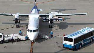 中部国際空港 DHC8-Q400  空港で働く 裏方さんたち  到着~出発までのすべて