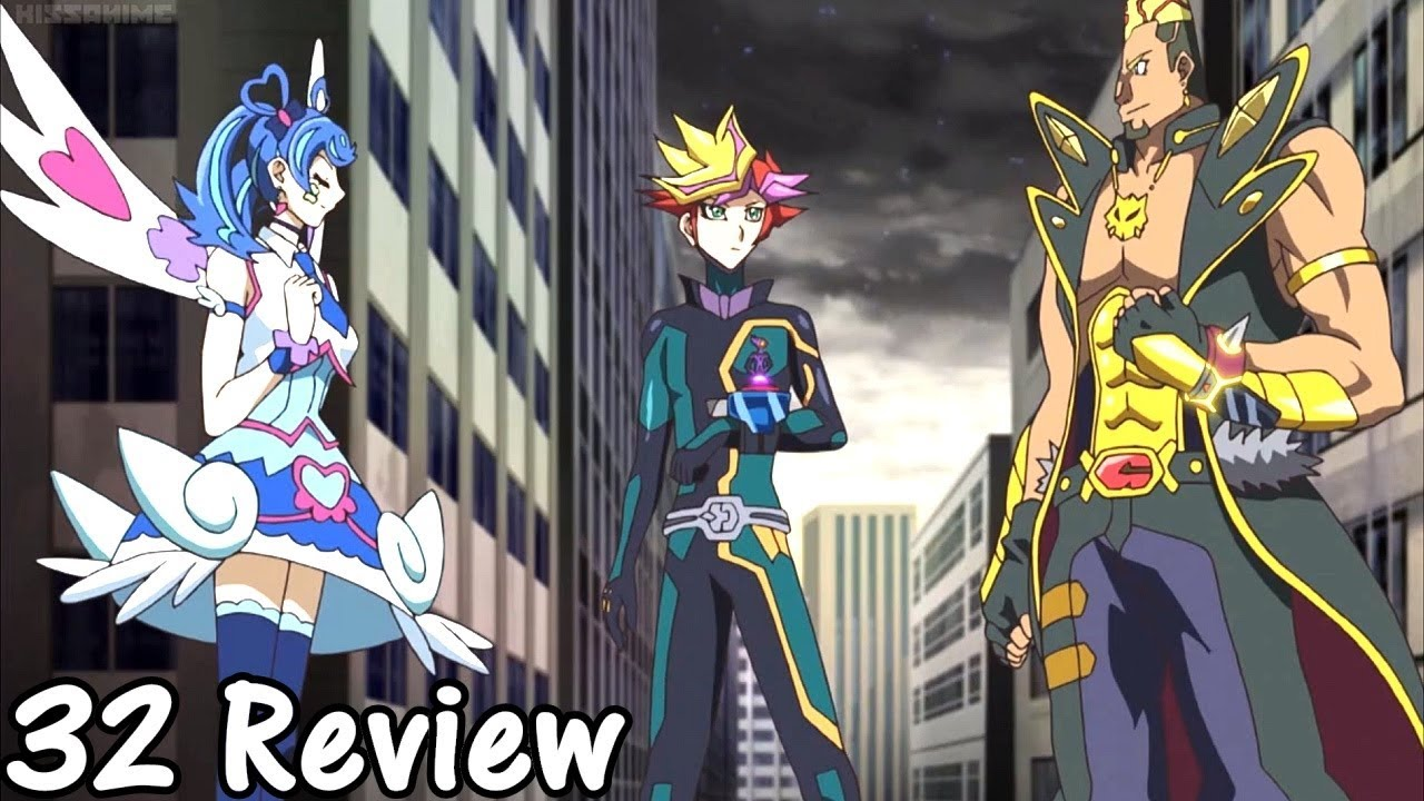 Yugioh VRAINS Episode 32 Review [Tower of Hanoi]