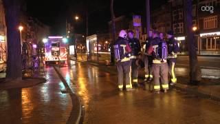 Brand in café Zuiderdiep