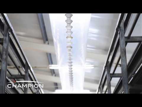MUSHROOM FARMING-GROWING EQUIPMENT-AIR DISTRIBUTION CONES