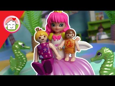 Playmobil Meerjungfrauen Party im Aquapark  Geschichte von Familie Hauser  Film deutsch