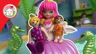 Playmobil Meerjungfrauen Party im Aquapark - Geschichte von Familie Hauser - Film deutsch