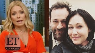 Kelly Ripa, Shannen Doherty React To Luke Perry's Death