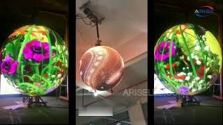 High Definition Led Video Globe Sphere Display 360 Degree Indoor Led Hd 3d Ball Screen,OEM 360 Degre