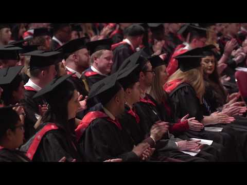 UCLan Graduation Ceremony: Monday 4 December 2017 – Afternoon