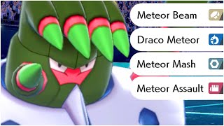 FULL METEOR MOVES POKEMON TEAM !  ( Meteor Beam, Meteor Mash , Meteor Assault , Draco Meteor )