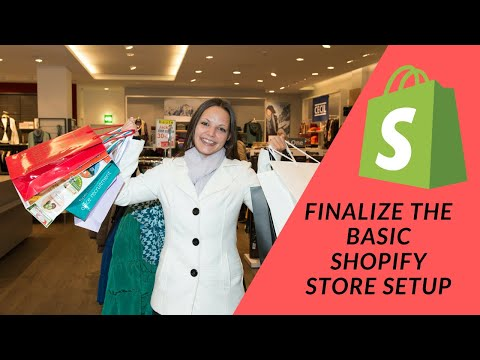 Shopify Tutorial  How To Start a Profitable eCommerce Store from Scratch Part 2:  Finalizing Signup