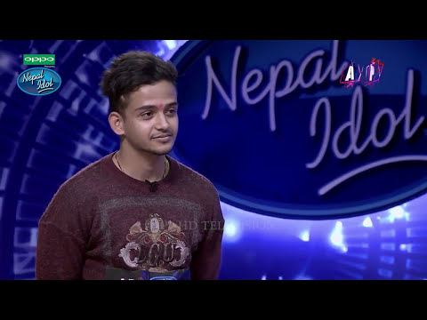 Narayan Gopal in Nepal Idol || OMG !! He's so Good || Must Watch