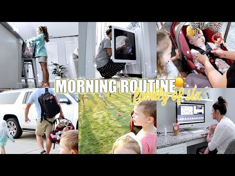 MORNING ROUTINE | Family Of Six