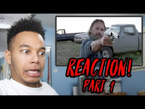 "The Walking Dead Season 8 Episode 16 ""Wrath"" (Finale) REACTION! (Part 1)"