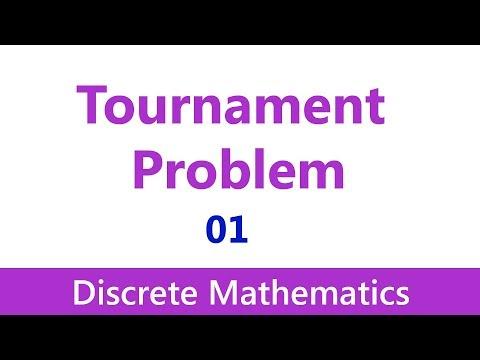Discrete Mathematics #24 Graph Theory: Tournament Problem (1/2)