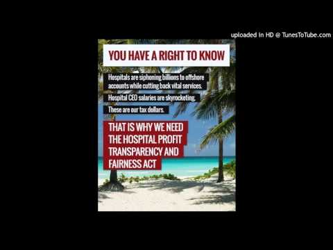 Radio Ad Highlights Hospital CEOs' Excessive Pay and Money Stashed in Cayman Islands
