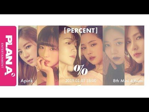 Apink 에이핑크 [PERCENT] Rolling Music Teaser