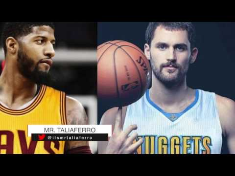 A Paul George To Cleveland- Kevin Love To Denver Trade Is In The Works, Here's The Details
