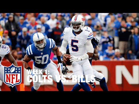 Bills QB Tyrod Taylor Scrambles for 31 Yards | Colts vs. Bills | NFL