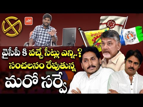 AP Election Latest Survey 2019 | YCP And TDP Winning Seats In AP Elections 2019 | AP News | YOYO TV