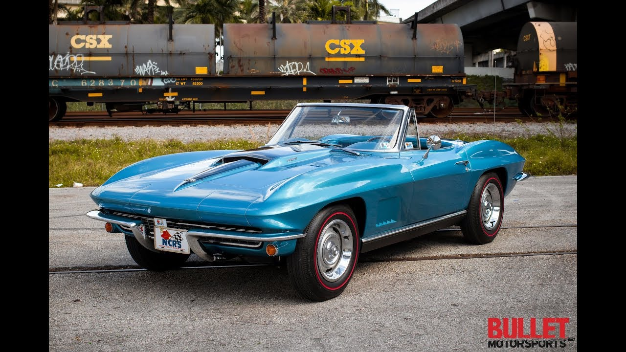 1967 Chevrolet Corvette Convertible Ncrs Top Flight 4k Youtube
