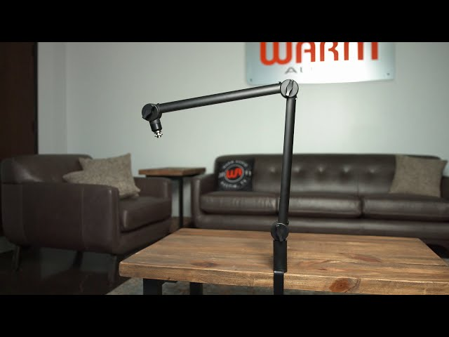 Introducing The WA-MBA Microphone Boom Arm | from Warm Audio