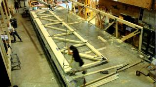 Time-lapse: Truss Construction