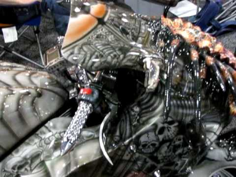NYC Motorcycle Show 2010 - The Predator-cycle!