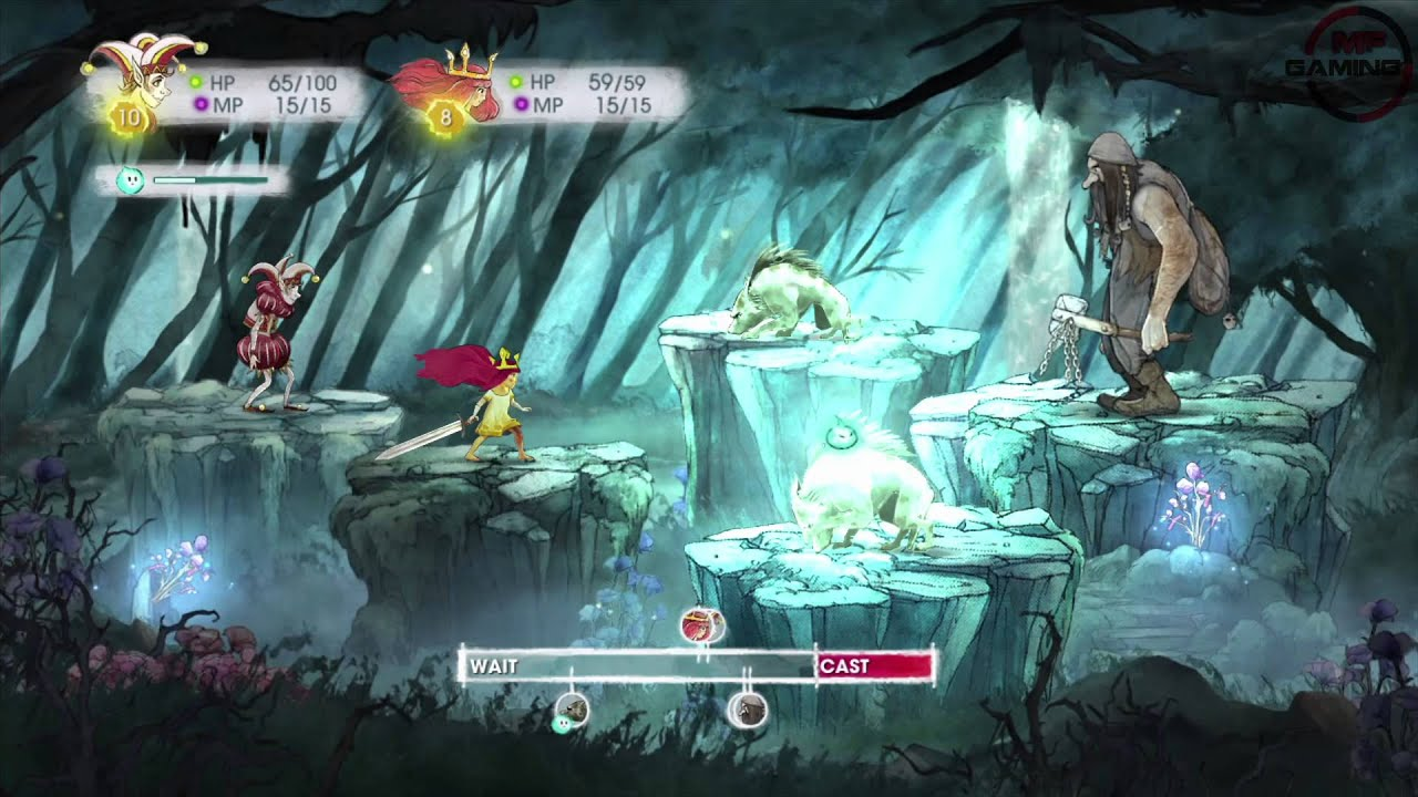 Child Of Light Wii U Gameplay Into The West Youtube