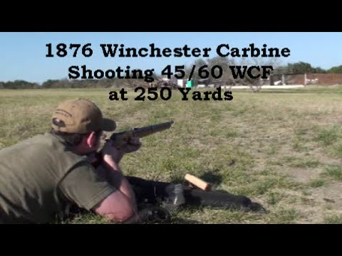 1876 Winchester Musket Carbine Shooting 45/60 WCF Long Range