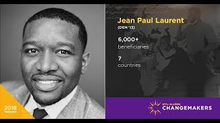 Jean Paul Laurent (DEN '13) : NYU Alumni Changemaker