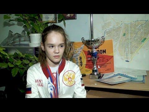 Юная чемпионка Оля Иванюк. Джанкой-2019