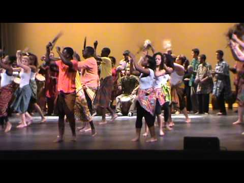 Agbekor - UMass Dartmouth Kekeli West African Drum and Dance Ensmble