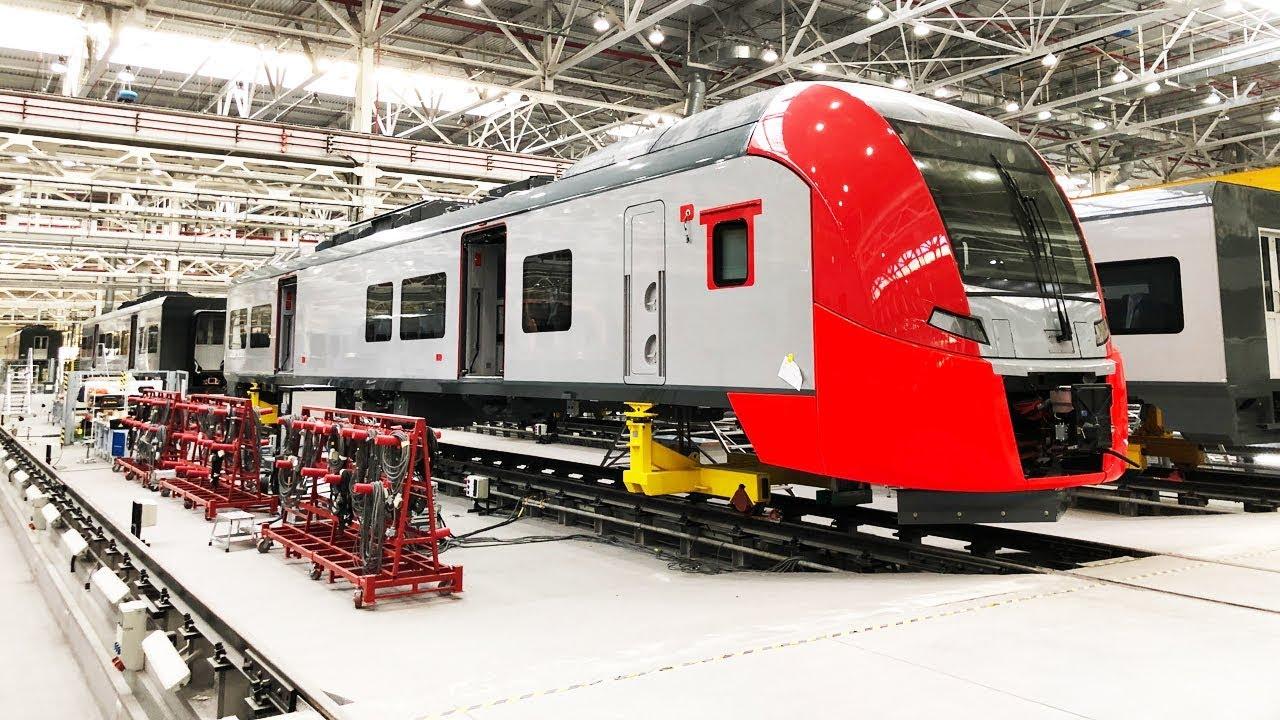 Смотрим, как на Урале делают поезда