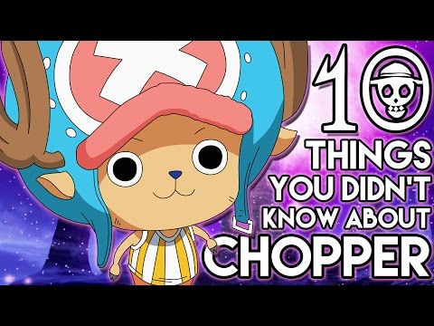 10 Things You Probably Didn't Know About Tony Tony Chopper! (10 Facts) | One Piece