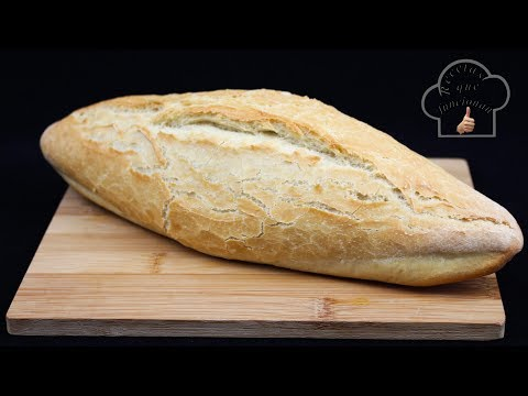 El pan rápido, tierno y crujiente que funciona!