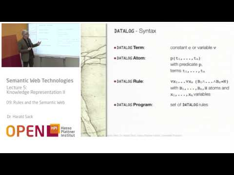 05 - 09 Rules and the Semantic Web